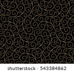 seamless abstract linear... | Shutterstock .eps vector #543384862
