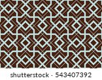 seamless pattern with... | Shutterstock .eps vector #543407392