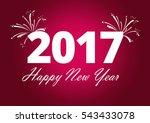 happy new year  | Shutterstock . vector #543433078
