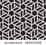 seamless pattern with thin... | Shutterstock .eps vector #543452548
