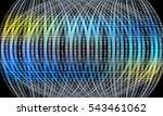 futuristic vector backdrop and... | Shutterstock .eps vector #543461062