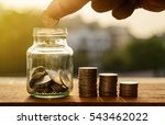 saving account and money... | Shutterstock . vector #543462022