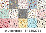 collection of women accessories.... | Shutterstock .eps vector #543502786