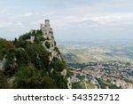 San Marino View. Mountain With...