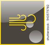 wind icon. | Shutterstock .eps vector #543575782