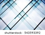 reworked tilt photo of glass... | Shutterstock . vector #543593392