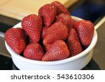 strawberries | Shutterstock . vector #543610306