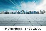 cityscape and skyline with... | Shutterstock . vector #543612802