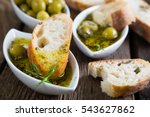 The Bread Dipped In Olive Oil...