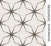 seamless pattern  cellular...   Shutterstock .eps vector #543654286