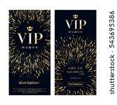 vip club party premium...   Shutterstock .eps vector #543695386