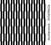 black vertical lines on white... | Shutterstock .eps vector #543698626