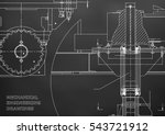 blueprints. engineering... | Shutterstock .eps vector #543721912