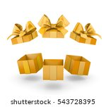 christmas and new year's day  ... | Shutterstock . vector #543728395