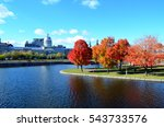 montreal in autumn | Shutterstock . vector #543733576