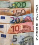 Euro  Eur  Banknotes  Currency...