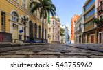 view of the historic rua do bom ... | Shutterstock . vector #543755962