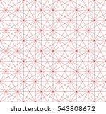 hexagonal  pattern  abstract... | Shutterstock .eps vector #543808672