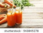 Fresh Carrot Juice In Bottles...