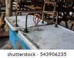 old scale vintage very old... | Shutterstock . vector #543906235