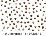 scattering of tasty chocolate... | Shutterstock . vector #543920848