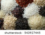 Different Types Of Rice Closeup