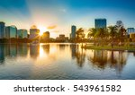 sunset at orlando   Shutterstock . vector #543961582