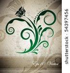 vector abstract design   Shutterstock .eps vector #54397456