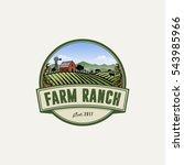 farm ranch logo | Shutterstock .eps vector #543985966