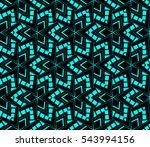 color design geometric pattern. ... | Shutterstock .eps vector #543994156