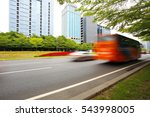 empty road surface floor... | Shutterstock . vector #543998005