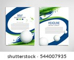 golf club competition... | Shutterstock .eps vector #544007935