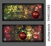 gift voucher. vector ...   Shutterstock .eps vector #544011085