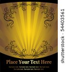 elegant cover. vector | Shutterstock .eps vector #54403561