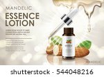 mandelic essence lotion... | Shutterstock .eps vector #544048216