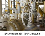 pipeline production and control ... | Shutterstock . vector #544050655