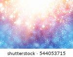 Magic Festive Blue Background....