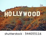 hollywood california   december ... | Shutterstock . vector #544055116