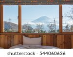 Bed With Fuji Mountain View As...