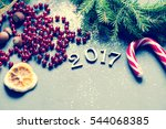 holiday background toned photo | Shutterstock . vector #544068385