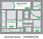 set of horizontal  vertical and ... | Shutterstock .eps vector #544086256