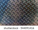 diamond steel plate metal...   Shutterstock . vector #544091416