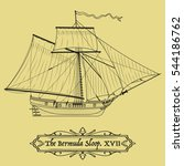 Vector Historical Sailing Ship...