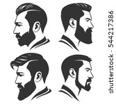 man with beard variations...