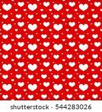valentines day seamless pattern ...   Shutterstock .eps vector #544283026