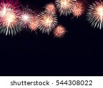Colorful Fireworks Background