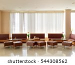 hotel lobby and furniture   Shutterstock . vector #544308562
