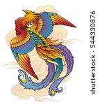 phoenix bird | Shutterstock .eps vector #544330876