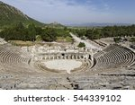 Roman Theatre In The Ruins Of...
