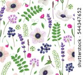 seamless pattern made with...   Shutterstock .eps vector #544347652